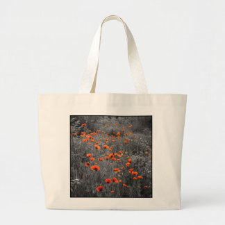 "Sac en coton ""Poppies"""