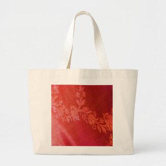 Sac floral rouge d'élégance - personnalisable