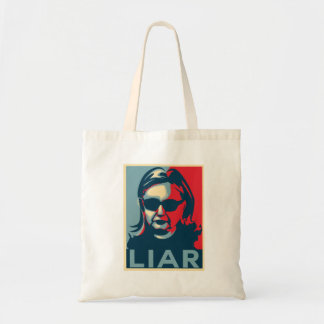 Sac fourre-tout à Anti-Hillary Clinton de MENTEUR
