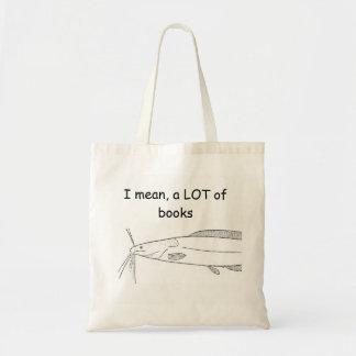 Sac fourre-tout à bibliothèque