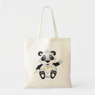 """Sac fourre-tout à caractère de panda de """"petit de"""