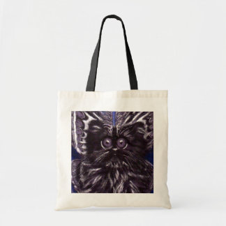 Sac fourre-tout à chat de mite de chat noir