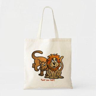 Sac fourre-tout à couples de lion