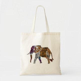 Sac fourre-tout à éléphant de Taureau de style de
