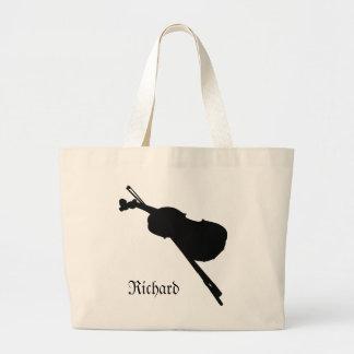 Sac fourre-tout à éléphant de violon