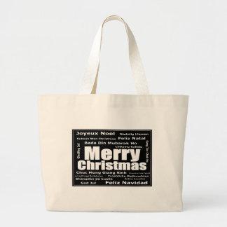 Sac fourre-tout à éléphant du Joyeux Noël de