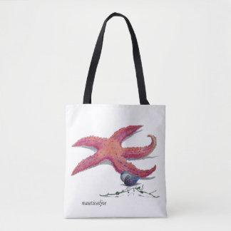 sac fourre-tout à étoiles de mer