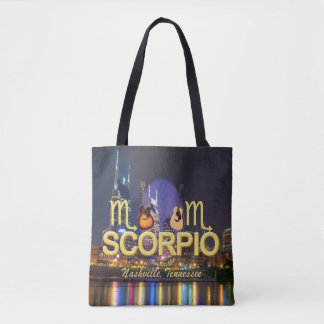 Sac fourre-tout à impression de Scorpion de