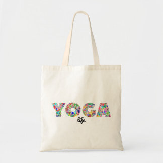 Sac fourre-tout à la vie de yoga