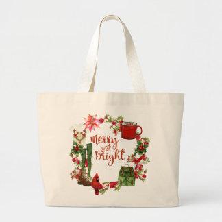 Sac fourre-tout à Noël du randonneur