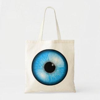 Sac fourre-tout à oeil bleu