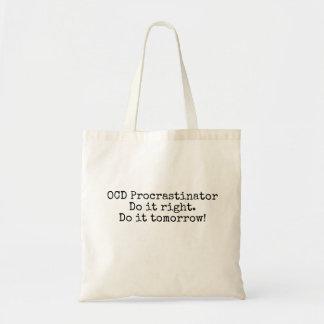 Sac fourre-tout à Procrastinator d'OCD