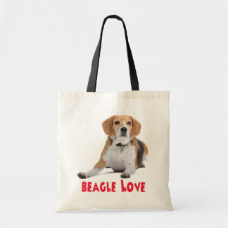 Sac fourre - tout à toile de chiot de beagles