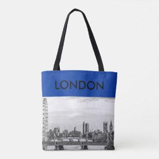 Sac fourre-tout à toile de Londres Big Ben la