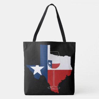 Sac fourre-tout à vin du Texas
