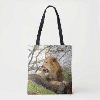 Sac fourre-tout africain à lion
