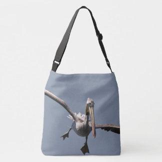 Sac fourre-tout animal à vol de faune d'oiseau de