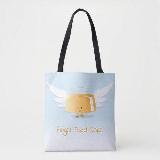 Sac fourre-tout au gâteau de nourriture d'ange  