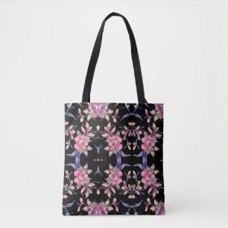sac fourre-tout conçu floral