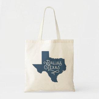Sac fourre-tout de Dallas le Texas de style d'art