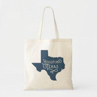 Sac fourre-tout de Houston le Texas de style d'art