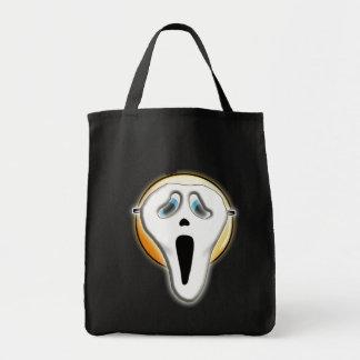 Sac fourre-tout drôle à masque d'Emoji de visage