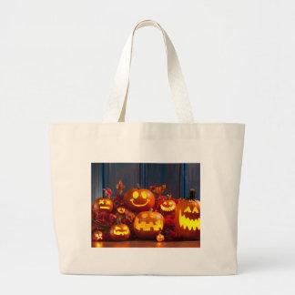 Sac fourre-tout effrayant à Halloween