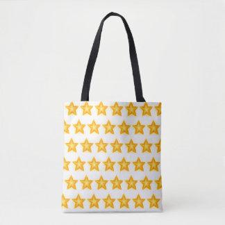 sac fourre-tout lumineux à étoiles