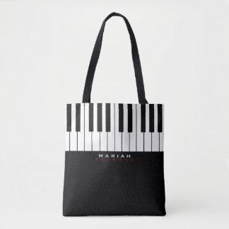 sac fourre-tout moderne à musique de piano partout