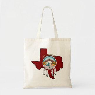 Sac fourre-tout tribal à achats du Texas de