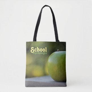 Sac fourre-tout vert à Apple du psychologue