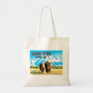 Sac fourre-tout vintage à voyage du Wyoming de