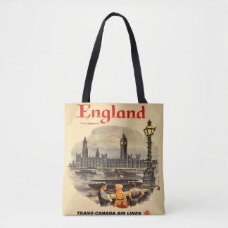 Sac fourre-tout vintage Big Ben à style de Londres