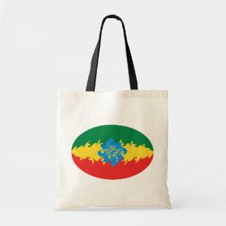 Sac Gnarly de drapeau de l'Ethiopie