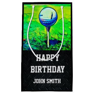 Sac jouant au golf nommé de cadeau de joyeux