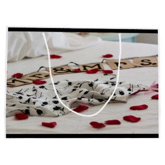 """Sac """"M. et Mme"""" mariage de cadeau"""