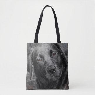 Sac noir de chien de Labrador