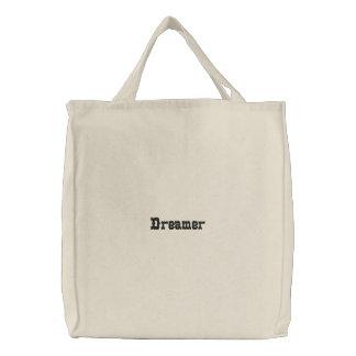 Sac organique brodé par rêveur
