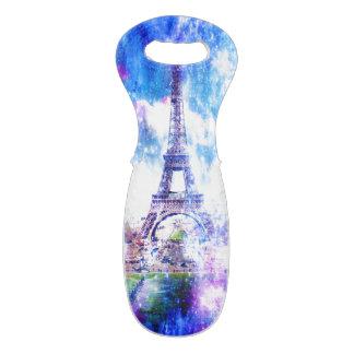 Sac Pour Bouteilles De Vin Univers Paris d'arc-en-ciel