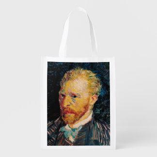 Sac Réutilisable Autoportrait de Vincent van Gogh |, 1887