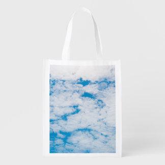 Sac Réutilisable Ciel bleu de nuages