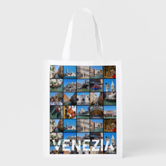 Sac Réutilisable Collage de Venise