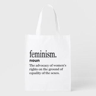 Sac Réutilisable Définition du féminisme
