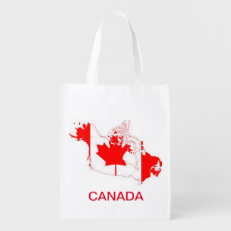 Sac Réutilisable Drapeau du Canada