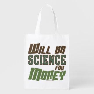 Sac Réutilisable Fera la Science pour l'argent