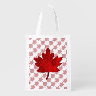 Sac Réutilisable Feuille de Canada-Érable par Shirley Taylor