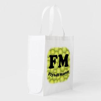 Sac Réutilisable FM, maître de Flyball