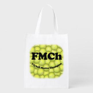 Sac Réutilisable FMCh, champion principal de Flyball 15.000 points