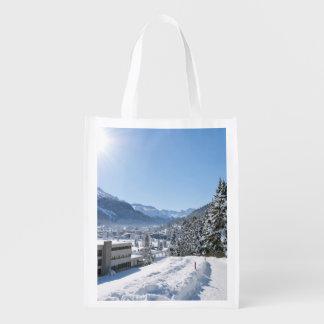 Sac Réutilisable Hiver à St Moritz