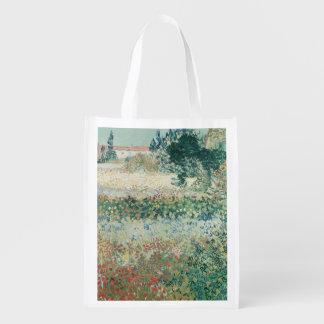 Sac Réutilisable Jardin de Vincent van Gogh | en fleur, Arles, 1888
